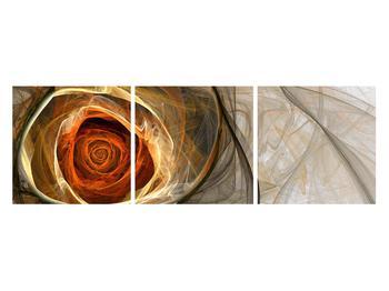 Tablou modern cu trandafir (K011863K12040)