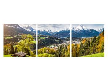Tablou cu peisaj montan (K011867K12040)