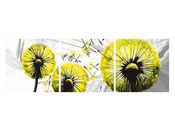 Tablou galben cu păpădii (K014028K12040)