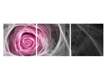 Abstraktní obraz růže (K014952K12040)