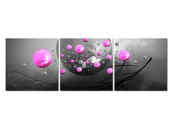 Obraz ružových gulí (V020105V12040)