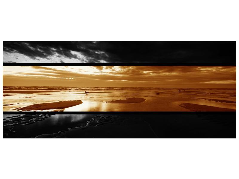 Dvroubarevný obraz moře (F001957F12050)