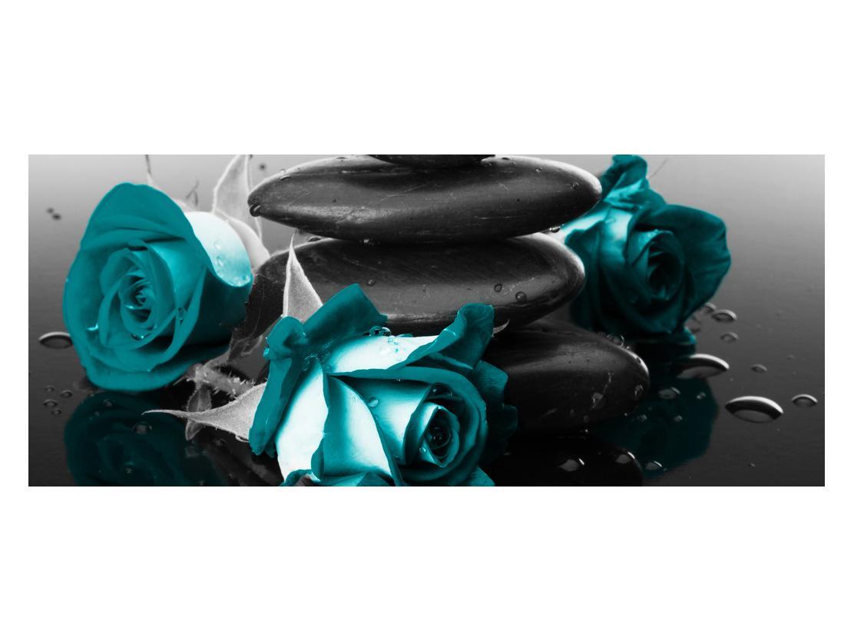 Tablou cu trandafiri albastre (K012553K12050)