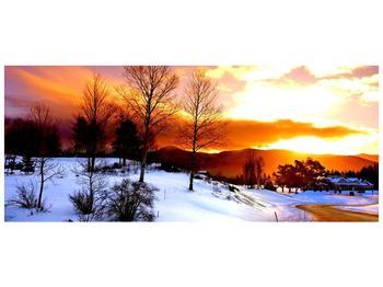 Obraz zimní krajiny (F000192F12050)