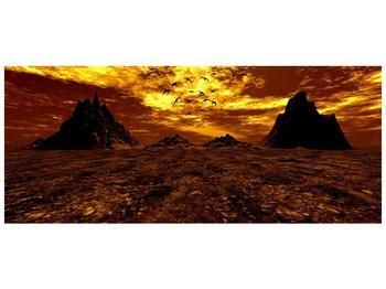 Obraz vyprahlého údolí (F000287F12050)