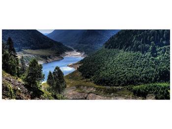 Obraz řeky a hor (F000615F12050)