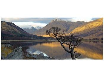 Obraz hor u jezera (F000686F12050)