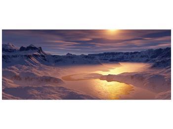 Krásný obraz zimní krajiny (F000939F12050)