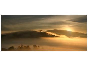 Obraz hor v mlze (F001451F12050)