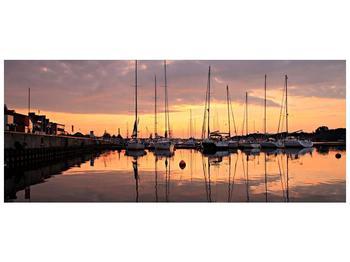 Obraz přístavu (F001605F12050)