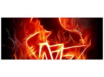 Obraz ohnivé postavy (F001691F12050)