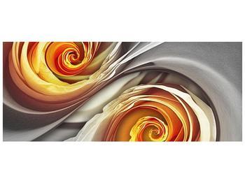 Abstraktní obraz - spirál (F001693F12050)