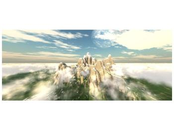 Obraz zasněžených vrcholů skal (F001715F12050)