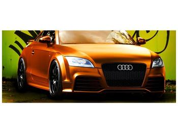 Obraz oranžové Audi (F002351F12050)