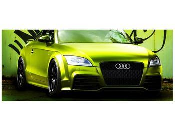Obraz zelené Audi  (F003676F12050)