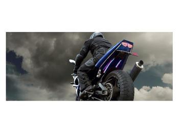 Tablou cu motociclist cu motocicletă (K011302K12050)