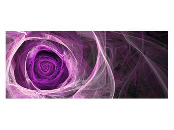 Moderný obraz fialovej ruže (K011482K12050)