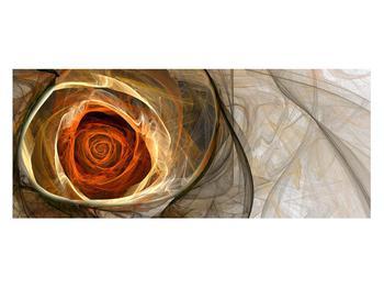Tablou modern cu trandafir (K011863K12050)