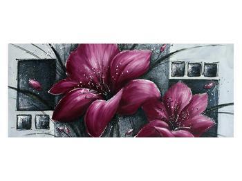 Tablou modern cu flori (K012355K12050)