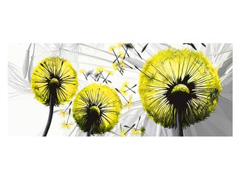 Tablou galben cu păpădii (K014028K12050)