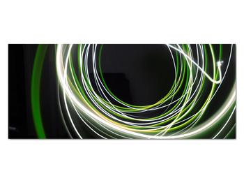 Obraz zelených čiar (V020054V12050)