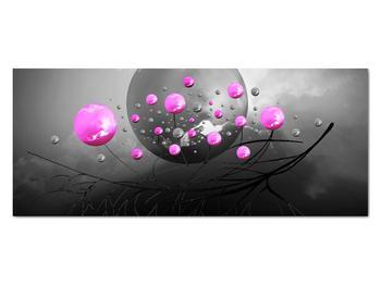 Obraz ružových gulí (V020105V12050)