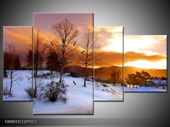 Obraz zimní krajiny (F000031F12075C2)