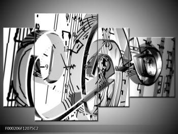 Moderní obraz houslového klíče (F000206F12075C2)