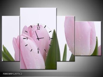 Obraz růžových tulipánů (F000389F12075C2)