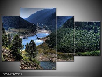 Obraz řeky a hor (F000615F12075C2)