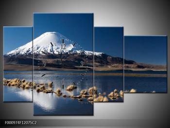 Obraz zasněžené hory (F000974F12075C2)