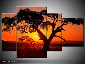 Obraz ohnivého západu slunce (F001288F12075C2)