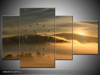 Obraz hor v mlze (F001451F12075C2)