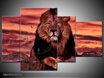 Obraz krále zvířat (F001507F12075C2)