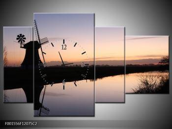 Obraz rybníku u mlýna (F001556F12075C2)
