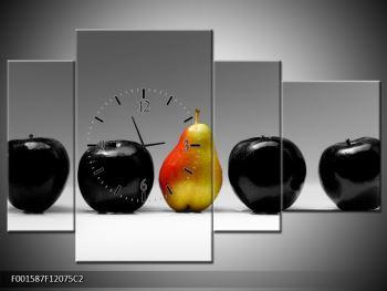 Obraz dvou jablek a hrušky (F001587F12075C2)