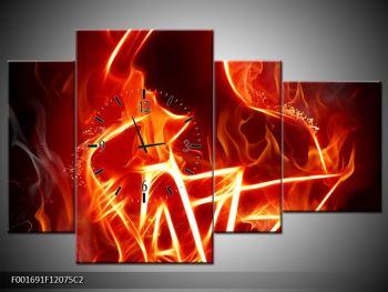 Obraz ohnivé postavy (F001691F12075C2)