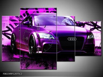Obraz fialové Audi (F002349F12075C2)