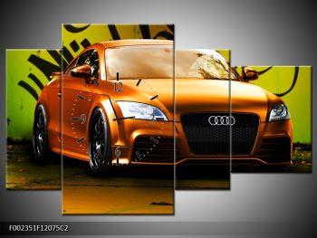 Obraz oranžové Audi (F002351F12075C2)