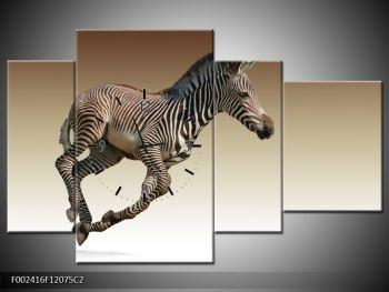 Obraz běžící zebry (F002416F12075C2)