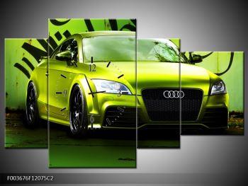 Obraz zelené Audi  (F003676F12075C2)