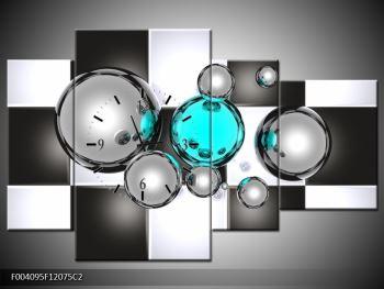 Obraz s hodinami F004095F12075C2 (F004095F12075C2)