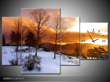 Obraz zimní krajiny (F000031F12075C4)