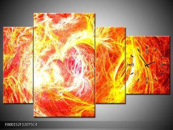 Abstraktní oranžový obraz (F000152F12075C4)