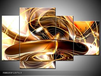 Moderní obstraktní obraz (F000203F12075C4)