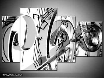 Moderní obraz houslového klíče (F000206F12075C4)