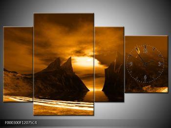 Obraz skály a pláže (F000300F12075C4)