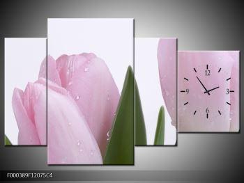 Obraz růžových tulipánů (F000389F12075C4)