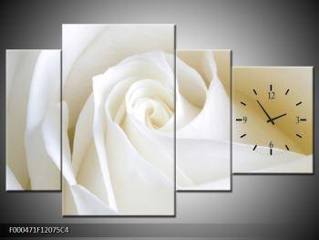 Obraz bílé růže (F000471F12075C4)