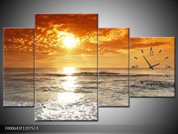 Obraz moře a západu slunce (F000643F12075C4)
